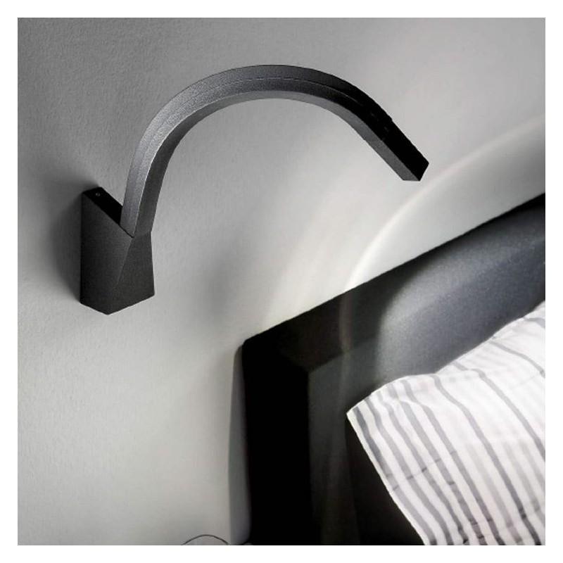 Lampada da parete modellabile - Lampade da lettura a letto ...