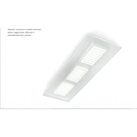 Plafoniera Dublight Led