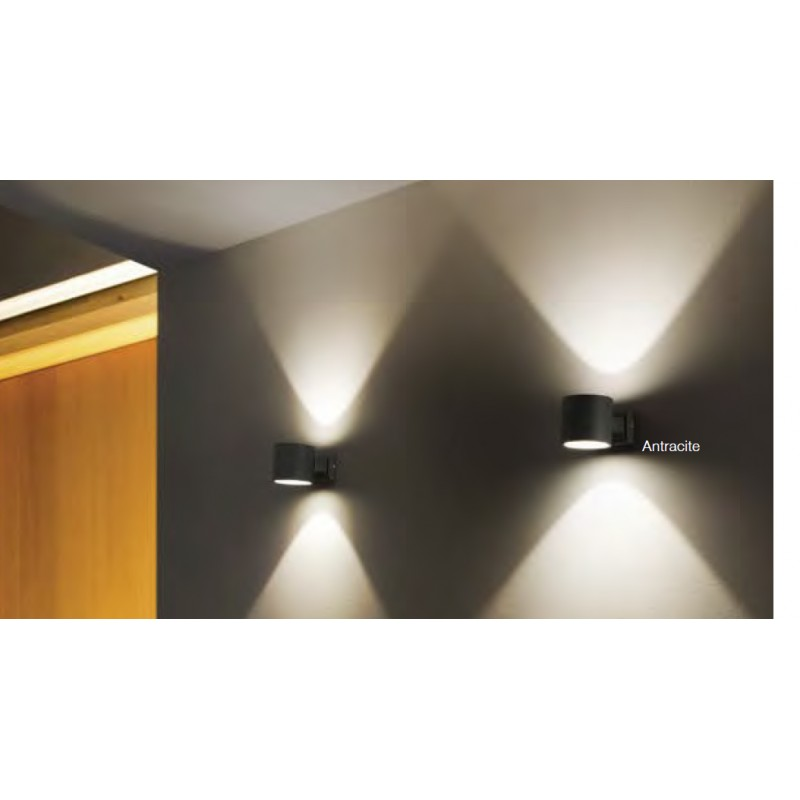 Eleganti lampade da parete esterne up down - Lampada da esterno a parete ...