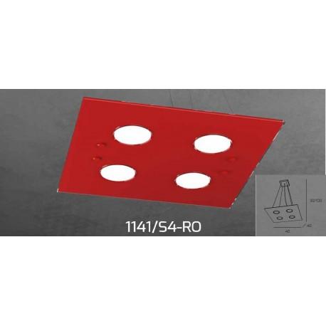 Sospensione 1141/4 In vetro